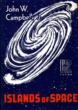 Islands of Space - Dust-jacket from the first edition