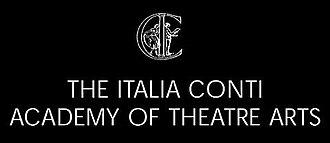 Italia Conti Academy of Theatre Arts - Image: Italia Conti Academy Logo