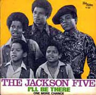 I'll Be There (The Jackson 5 song) - Image: J5 ill be there 45