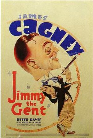 Jimmy the Gent (film) - theatrical release poster