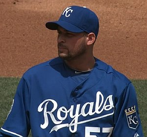 Jonathan Sánchez - Sánchez in his first start with the Royals