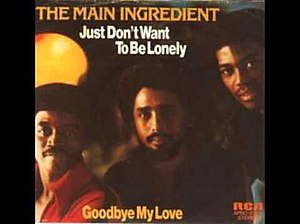 Just Don't Want to Be Lonely - Image: Just Don't Want to Be Lonely The Main Ingredient