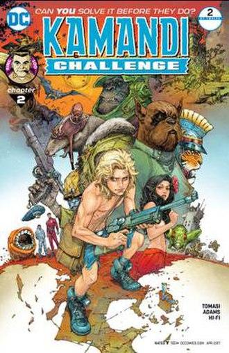 Kamandi - Image: Kamandi challenge 02