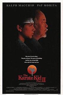 <i>The Karate Kid Part II</i> 1986 karate film directed by John G. Avildsen