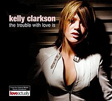 Kelly Clarkson - La Trouble With Love Is CD-kover.jpg