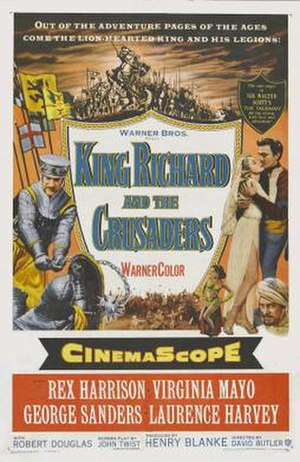 King Richard and the Crusaders - Theatrical poster