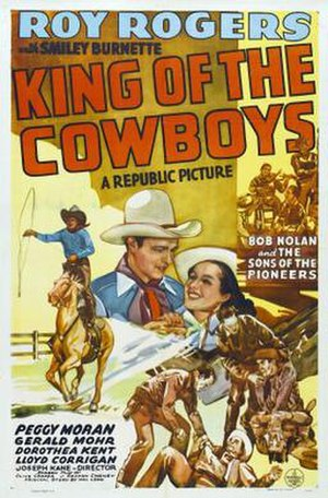 King of the Cowboys - Image: King of the Cowboys Film Poster