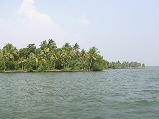 Mynagappally village in Kerala, India