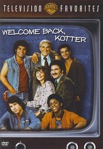 Welcome Back, Kotter - Image: Kotterdvdcover
