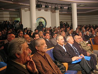 Kurdish United Front - Audience at the gathering to commemorate the Front's first anniversary in 2007