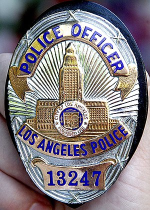 LAPD Badge Series 6 13247copyA