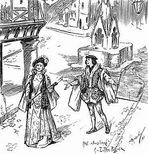 Henry Wood - 1891 production of Messager's La Basoche, for which Wood was répétiteur