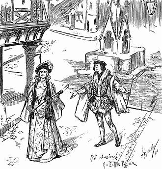 Henry Wood - 1891 production of Messager's La Basoche, for which Wood was répétiteur