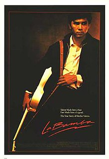 <i>La Bamba</i> (film) 1987 biographical film by Luis Valdez
