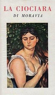 1958 Italian-language novel by Alberto Moravia