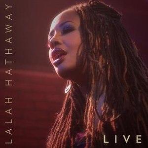Lalah Hathaway Live - Image: Lalah Hathaway live