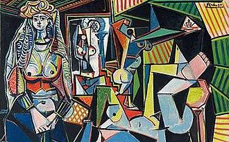 1955 in art - Image: Les femmes d'Alger, Picasso, version O