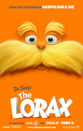 The Lorax (film) - Theatrical release poster