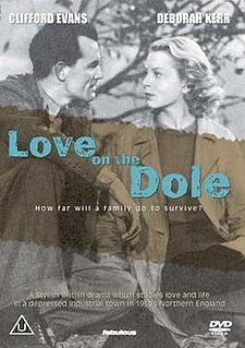 <i>Love on the Dole</i> (film) 1941 film by John Baxter