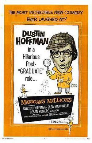 Madigan's Millions - English-language poster