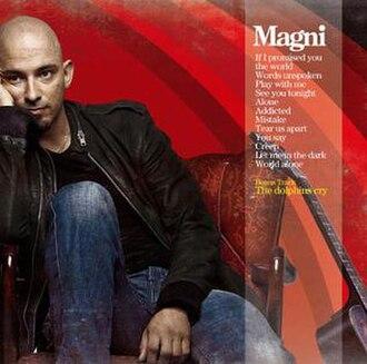 Magni Ásgeirsson - Album cover of Magni (with original track list).