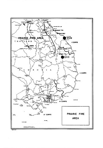 Military Assistance Command, Vietnam – Studies and Observations Group - Shining Brass/Prairie Fire Area of Operations, 1969