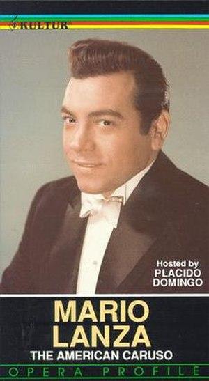 Mario Lanza: The American Caruso - Videotape cover
