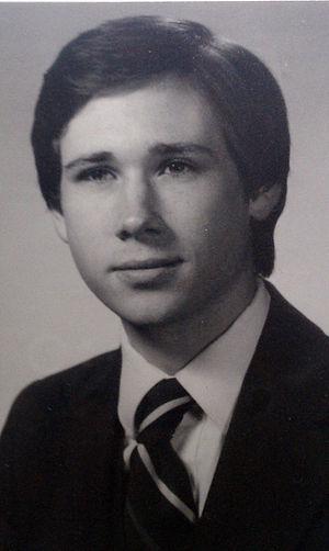 Mark Kirk - Kirk as president of Seal and Serpent in 1981.