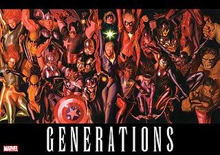<i>Generations</i> (Marvel Comics) 2017 anthology comic book series