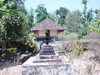 Mazhuvannur Maha Siva Kshethram town in Kerala, India