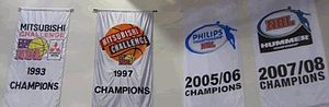 Melbourne United -  Melbourne's Championship banners