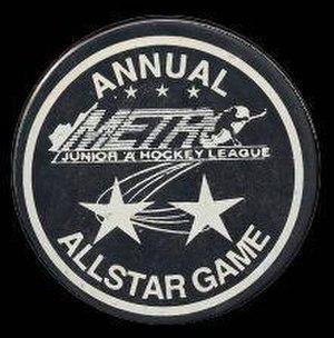 Metro Junior A Hockey League - 1995-96 All-Star Game Puck