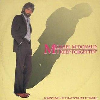 I Keep Forgettin' (Every Time You're Near) - Image: Michael Mc Donald I Keep Forgettin'