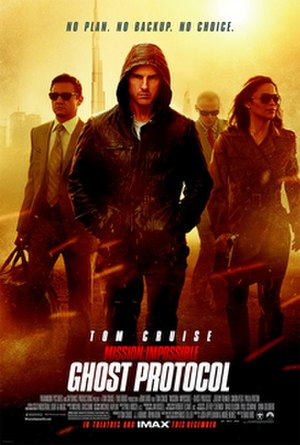 Mission: Impossible – Ghost Protocol - Theatrical release poster