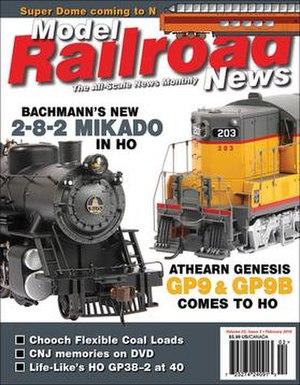 Model Railroad News - Image: Model Railroad News cover February 2016