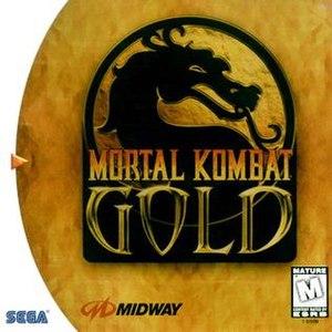 Mortal Kombat Gold - North American Dreamcast cover art
