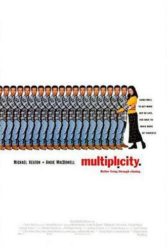 Multiplicity (film) - Theatrical release poster