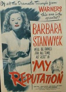 <i>My Reputation</i> 1946 film