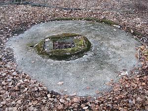 Kirchheim unter Teck - Remnants of a Natter launch pad near Kirchheim.