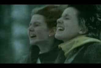 "Nas Ne Dogonyat - t.A.T.u. in the ""Нас не догонят"" music video"