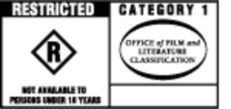 Australian Classification Board - Category 1 Restricted