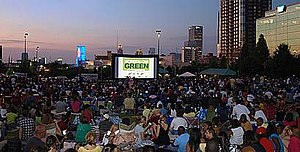 Screen on the green with AIRSCREEN