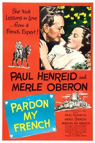 Pardon My French (1951 film) - Image: Pardon My French (1951 film)