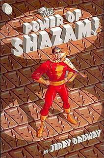 <i>The Power of Shazam!</i> 1994 graphic novel by Jerry Ordway