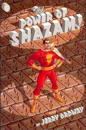 The Power of Shazam! - The Power of Shazam! original hardcover graphic novel, cover art by Jerry Ordway.