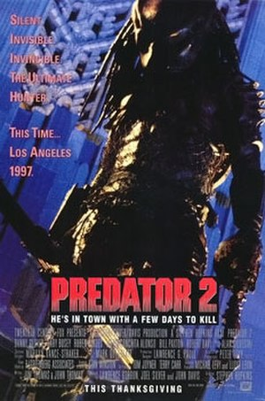 Predator 2 - Theatrical release poster