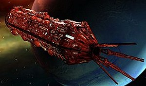 Red Dwarf Remastered - The CG version of Red Dwarf, which is darker and longer than the original.