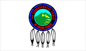Confederated Tribes of the Grand Ronde Community of Oregon - Tribal flag