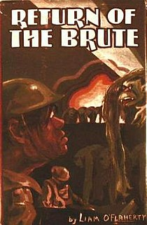 <i>Return of the Brute</i> book by Liam OFlaherty