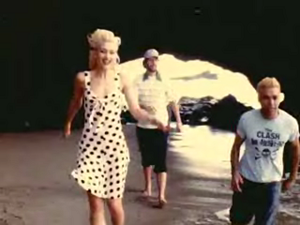 Running (No Doubt song) - A scene from the music video